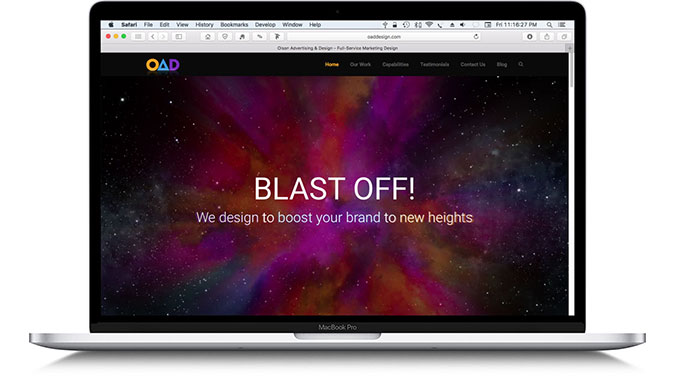 Welcome To The New Oaddesign.com